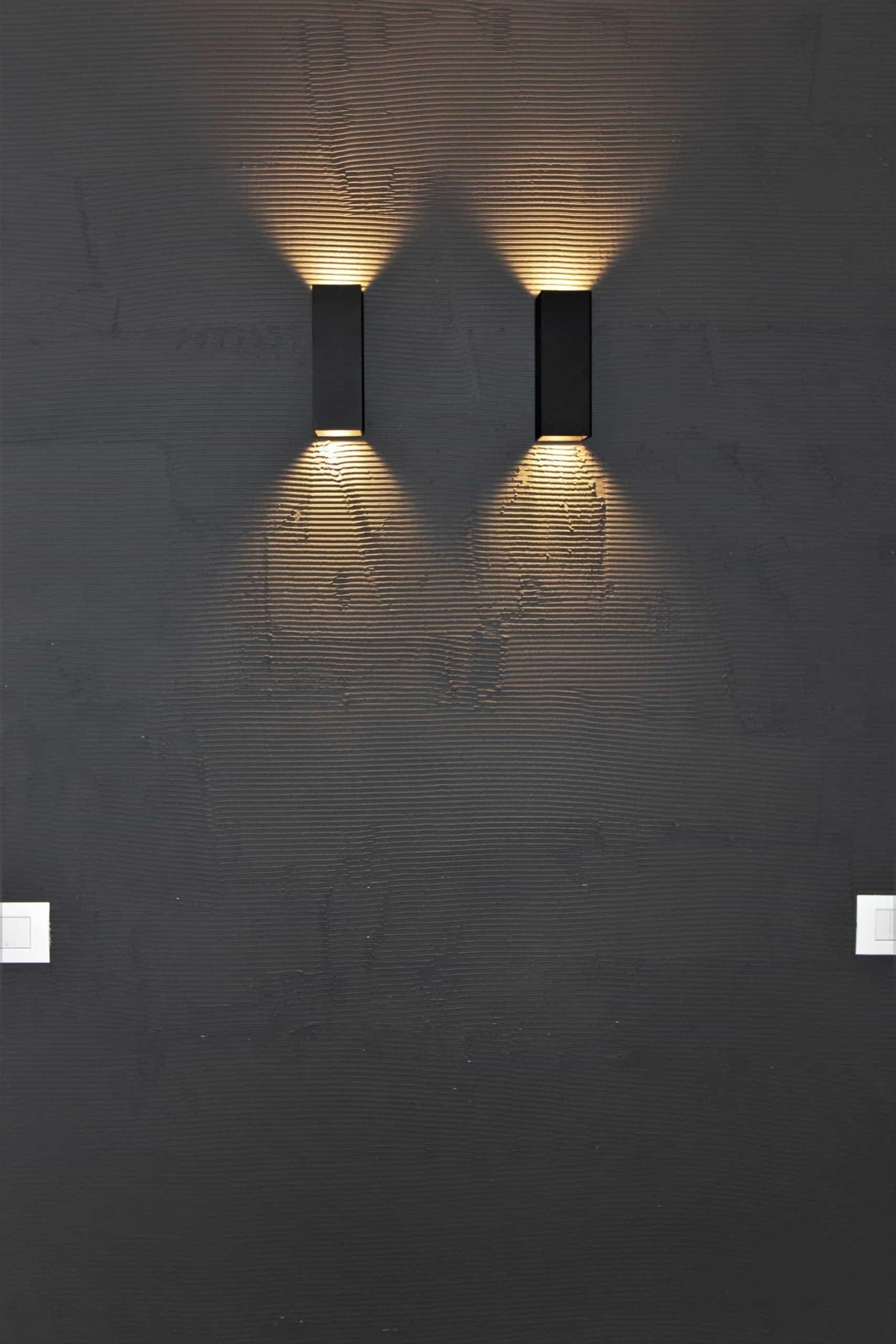 fanton mobili appartamento bolzano dettaglio luci